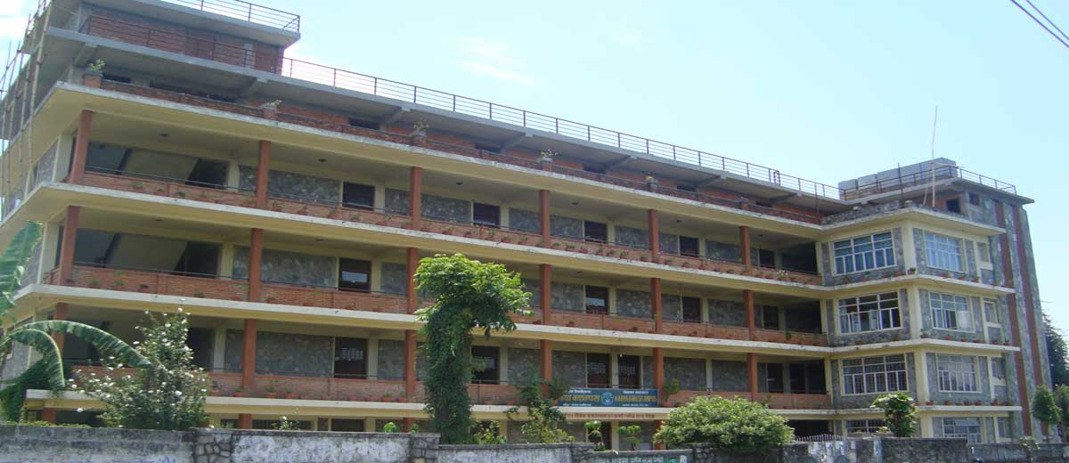 Building of Kanya Campus Pokhara