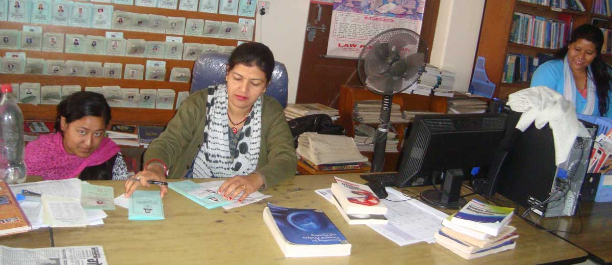 Library of Kanya Campus Pokhara